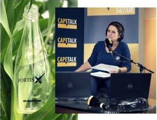 CapeTalk Lunch with Pippa Hudson Interview